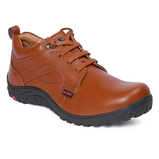 Red Chief Tan Men Outdoor Casual Leather Shoes (RC3507 287)
