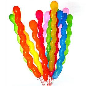 40Pcs Party BalloonsScrew Shaped