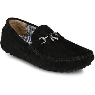 3848aa0cde5 Buy AfroJack Men s Black Loafers Online - Get 58% Off