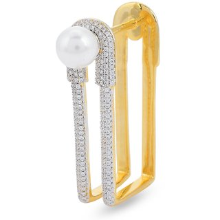 Tistabene Retails Contemporary American Diamond Stylish Club Wear Cocktail Ring For Women And Girls (RI-0497)