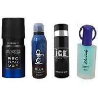 Diwali Super Saver AXE Deo + ICE Deo + Lenjo Deo + Branded Perfume