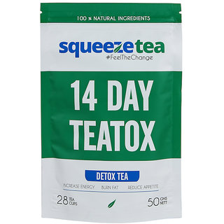 Squeeze Tea 14 Day Teatox - Lose Weight Naturally