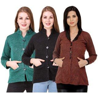 db8d6a6b9b5 Buy Kritika World Winter Wear Wollen Coat For Women Online - Get 50% Off
