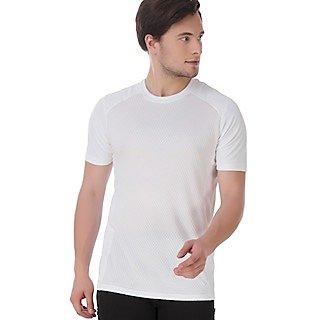 Klothoflex White Sorts Drifit Tshirt