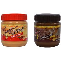 Sonya Creamy + Chocolate Peanut Butter Combo Pack 340 gm