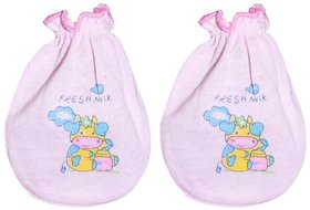 Astro Club Cotton Printed Baby Big Mitten (Pack of 10 Pairs)