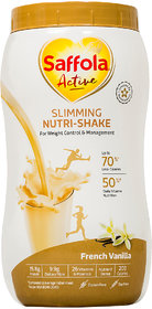 Saffola Active Slimming Nutri-Shake - French Vanilla (400 Grams)