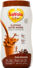 Saffola Active Slimming Nutri-Shake - Chocolate (400 Grams)