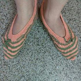 Woollen Ballerinas Socks