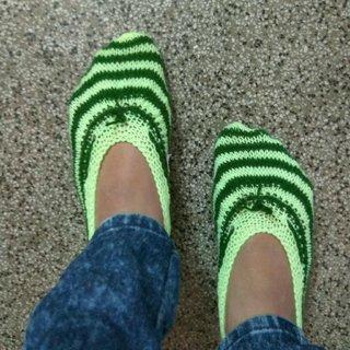 Woollen Socks Ballerinas