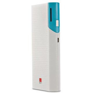 Iball PB-10017 Dual USB Port Slim Light Weight 10000 mAh Power Bank (Multicolor Lithium-ion)