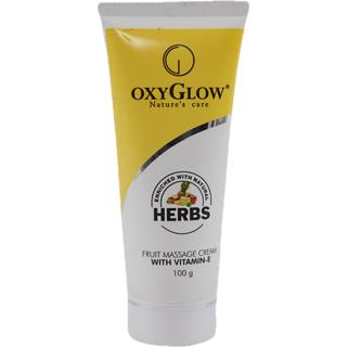 Oxyglow Fruit Massage Cream 100g