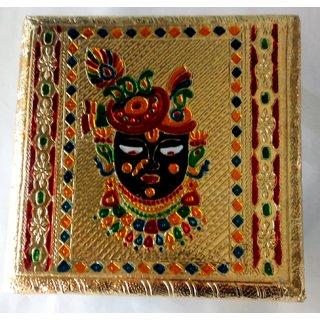 oyals Pooja Chowki 8 Inch - SHRINATH JI