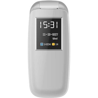 IKall K3312 Grey (1.8 Inch, Dual Sim, Bis Certified Made In India) Multimedia Mobile Phone