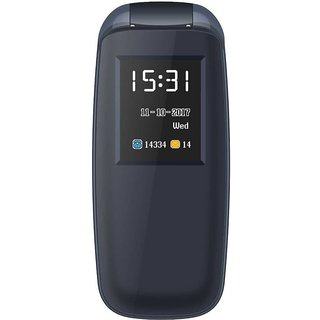 IKall K3312 Flip Phone (1.8 Inch, Dual Sim, Vibration , Bis Certified Made In India) Multimedia