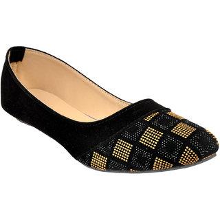 Altek Designer Slip-on Black  Brown Ballerina For Women (foot0-1398-camel-p150)