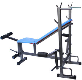 Paramount 8 IN 1 Bench For Muscle Building Workout And