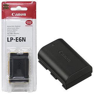 LP-E6N Battery for Canon EOS 5D 5Ds 7D 6D Mark II III 60D 70D (7.2V, 1865mAh)