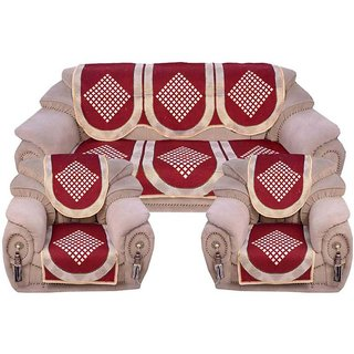 Shiv Kirpa Check 5 Seater Sofa Cover