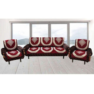 Shiv Kirpa 5 Seater Sofa Cover Pack Of 6