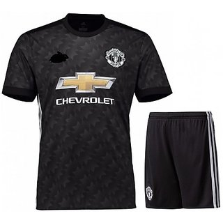 MAN chaster UNITED JERSEY WITH SHORTS AWAY KIT SEASON 17-18