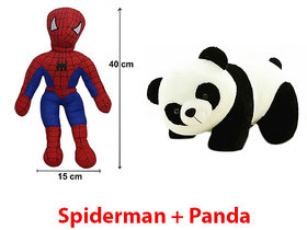 Combo Pack of soft toy Spiderman  Panda