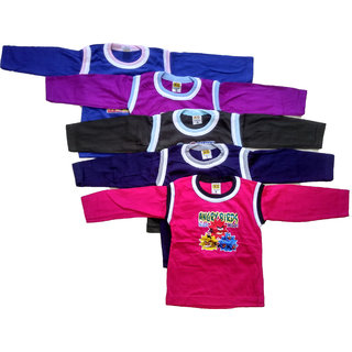 CH Fashion Full sleeve t shirt for kids Pack of 5