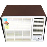 Glassiano Coffee Colored waterproof and dustproof window ac cover for Haier HW-09CA2 AC 0.8 Ton 2 Star Rating