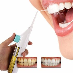 Portable Air Dental Hygiene Floss Oral Irrigator Dental Water Jet Cleaning Tooth Mouthpiece Mouth Denture Cleaner