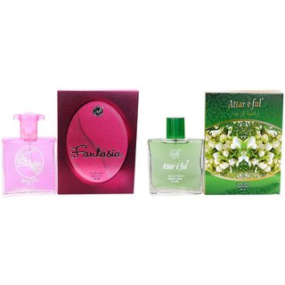 DSP Floral Fantasia and Attar E Ful Combo Perfume 100ML  100ML For Women