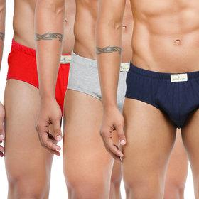Bonjour Men's Multicolor Briefs
