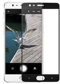 Hathot Oppo F1S 0.3 Mm Color Flexible Tempered Glass(Black)