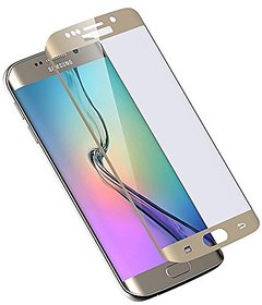 Hathot Samsung Galaxy S7 Edge 0.3 Mm Flexible Tempered Glass( Rose Golden)