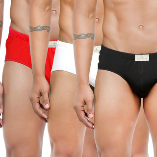 Bonjour Men's Multicolor Briefs