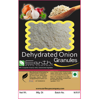 100 Pure Dehydrated Onion Granules - 250 Gram