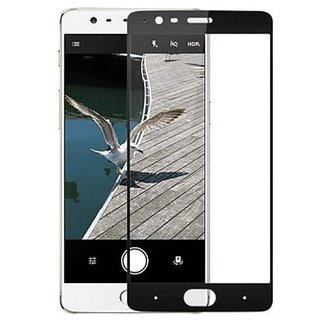 Hathot Oppo F1S 0.3 Mm Color Flexible Tempered Glass(Black)