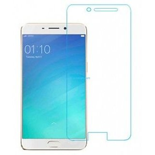 Hathot Oppo A57 0.3 Mm Color Flexible Tempered Glass(White)