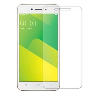 Hathot Oppo A37 0.3 Mm Color Flexible Tempered Glass(White)