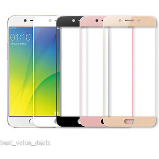 Hathot Oppo F3 Plus 0.3 Mm Flexible Tempered Glass( Golden)