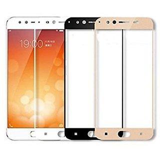 Hathot Vivo V5 Plus 0.3 Mm Color Flexible Tempered Glass(White)