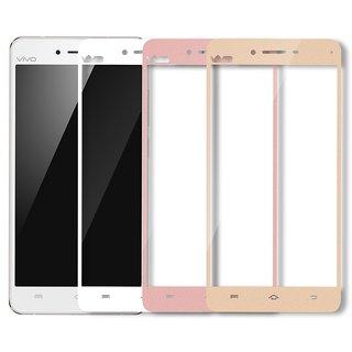 Hathot Vivo V3 0.3 Mm Flexible Tempered Glass( White)
