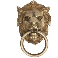 Lion Door Knocker In Antique Finish By Aakrati