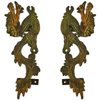 Dragon Door Handle In Antique Finish By Aakrati