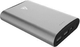 iVOOMi iV-PBL13K1 13000 mAh Power Bank  (Silver, Lithium-ion)