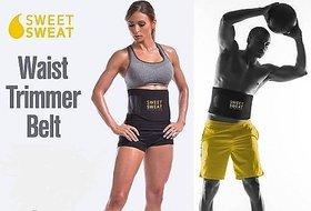 Unisex Sweet Sweat Belt Shaper Gym Belt AB Shaper Belt Waist Trimmer Belt