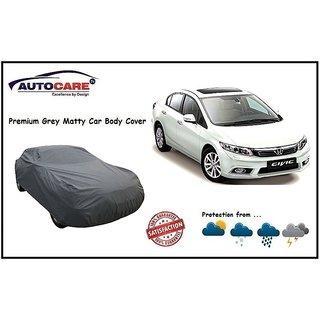 De AutoCare Grey Matty Car Body Cover For Honda Civic