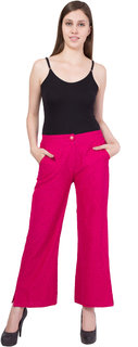 Lace pant with rayon lining
