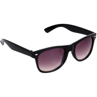 Aligatorr Unisex UV Protected Wayfarer Sunglasses Black UV400