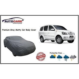 De AutoCare Grey Matty Car Body Cover For Mahindra Xylo