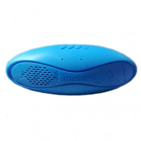 Sketchfab Mini Rugby style Bluetooth Speakers Small in size BIG on quality Play FM radio - Assorted Color